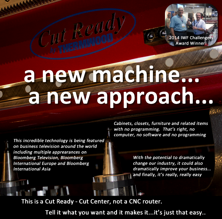 Thermwood Cut Center - A new machine, a new approach